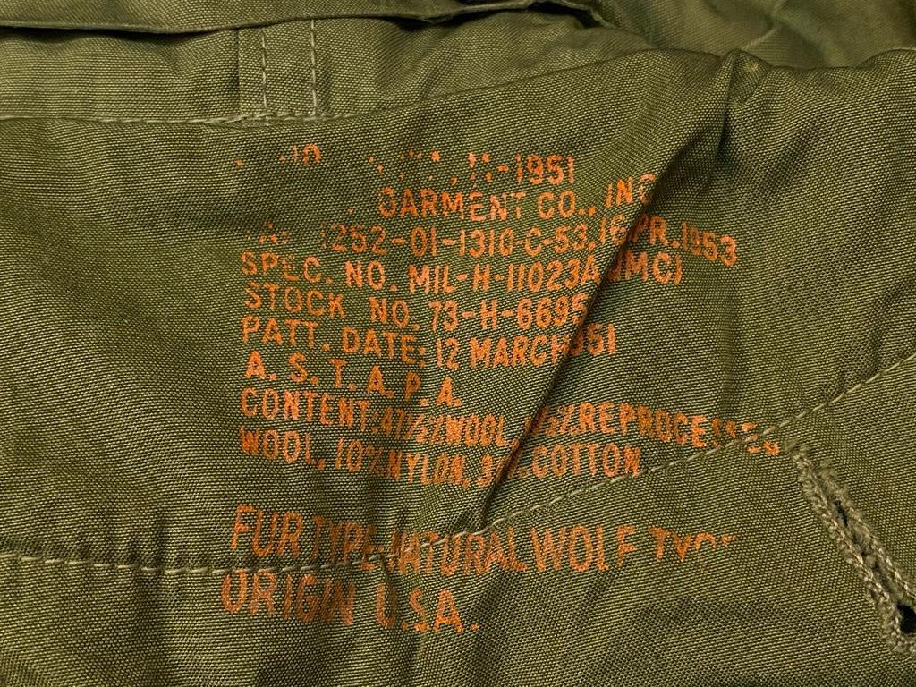8月19日(水)マグネッツ大阪店秋物ヴィンテージ入荷日 #8 U.S.Military Part 3!! M-51 FishtailParka,M-41 SnowParka&M-43 Modified_c0078587_22060841.jpg