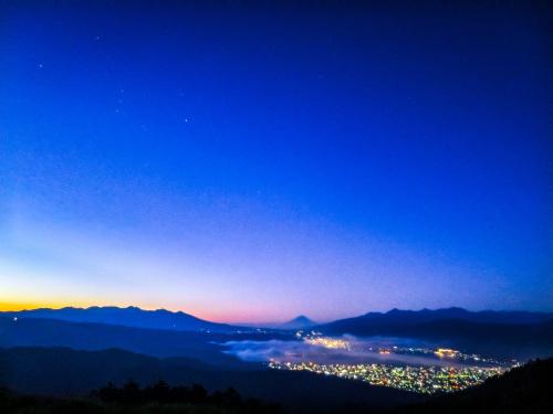 2020.8.15高ボッチ高原の夜明け前の風景(見晴らしの丘)_e0321032_10113869.jpg