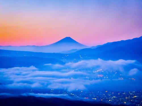 2020.8.15高ボッチ高原の夜明け前の風景(見晴らしの丘)_e0321032_10124853.jpg