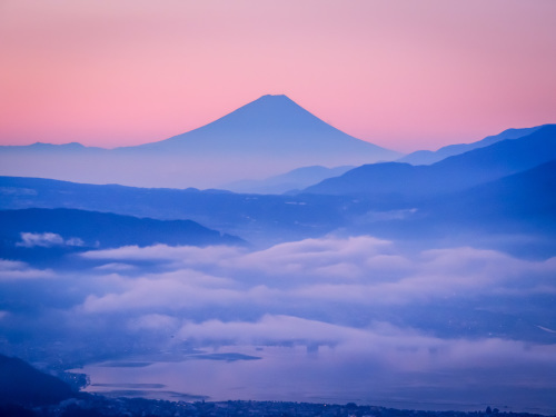 2020.8.15高ボッチ高原の夜明け前の風景(見晴らしの丘)_e0321032_10131127.jpg
