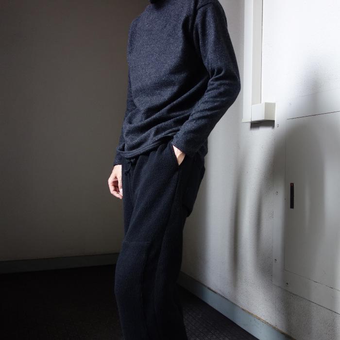 10月の製作 / DA woolknit highneck longsleeve_e0130546_15251814.jpg