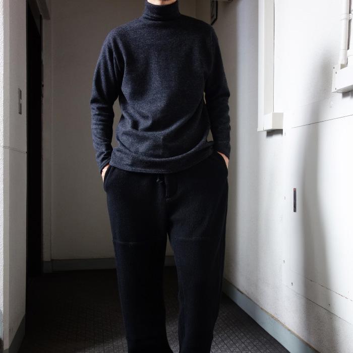 10月の製作 / DA woolknit highneck longsleeve_e0130546_15263857.jpg
