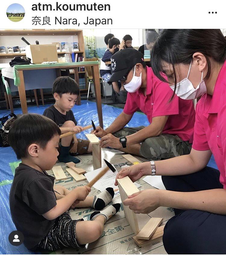 毎年恒例の木工教室と・・お知らせ!_f0206977_18281753.jpg
