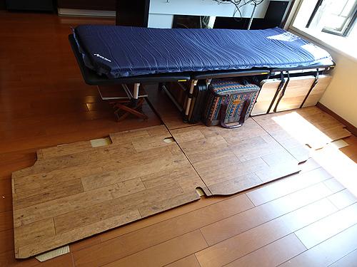 TINY VAN LIFE「理想的なベッドを求めて」_c0137404_09365114.jpg