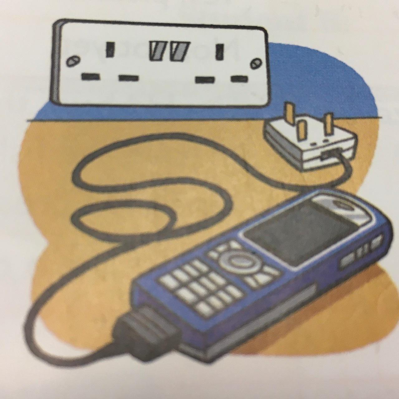 日常英会話「携帯をここで充電してもいいですか」を英語で_b0028312_17145569.jpg