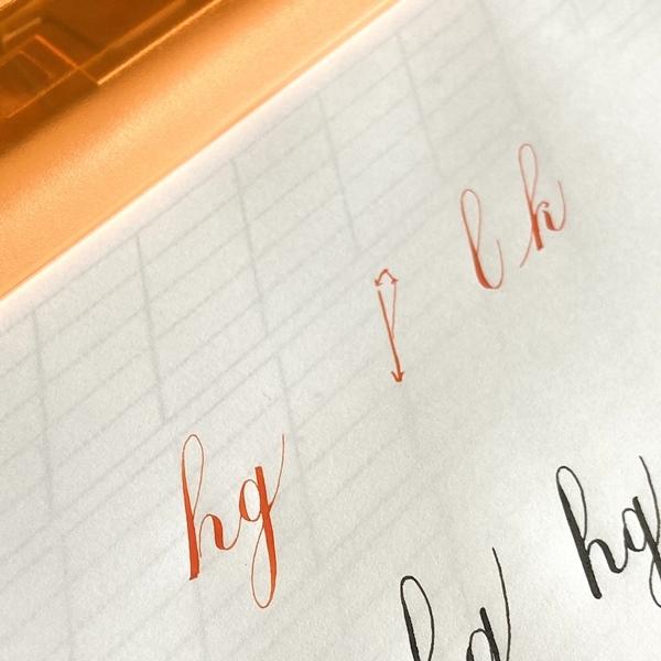 手すきの紙にモノグラム☆7/16カリグラフィーレッスン_b0165872_20532467.jpeg