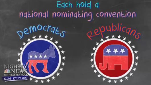 米大統領選に向けた民主党全国大会、子ども向けニュース(NBC Nightly News Kids Edition)はどう報じたか?_b0007805_22510593.jpg