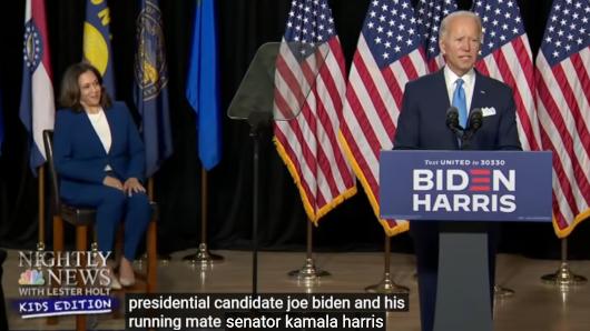 米大統領選に向けた民主党全国大会、子ども向けニュース(NBC Nightly News Kids Edition)はどう報じたか?_b0007805_22531563.jpg