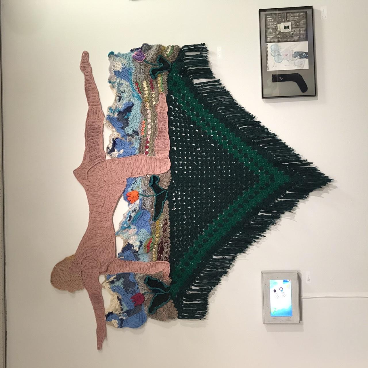 @KCUAギャラリー「おかんアートと現代アートをいっしょに展示する企画展」_f0189227_21101745.jpeg