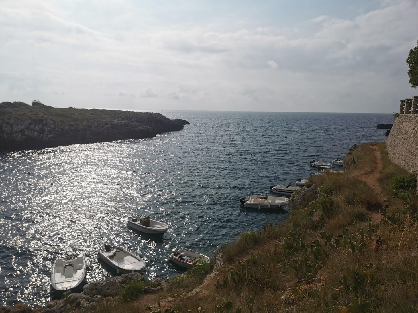 エメラルドグリーンの入り江と丘の上の塔~プーリア滞在記_f0106597_04510786.jpg
