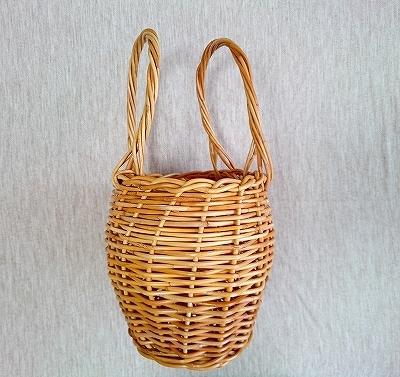 紅籐のかごを編み直しました_e0289203_11134619.jpg