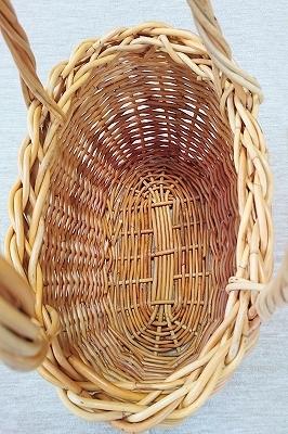 紅籐のかごを編み直しました_e0289203_14400058.jpg