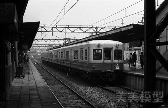 半世紀前のネガシートから 京成青砥駅_d0110009_09104632.jpg