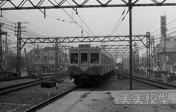 半世紀前のネガシートから 京成青砥駅_d0110009_09124733.jpg