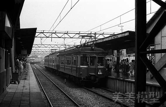 半世紀前のネガシートから 京成青砥駅_d0110009_09133143.jpg