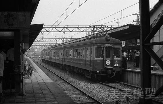 半世紀前のネガシートから 京成青砥駅_d0110009_09140320.jpg