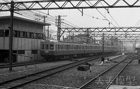 半世紀前のネガシートから 京成青砥駅_d0110009_09144199.jpg