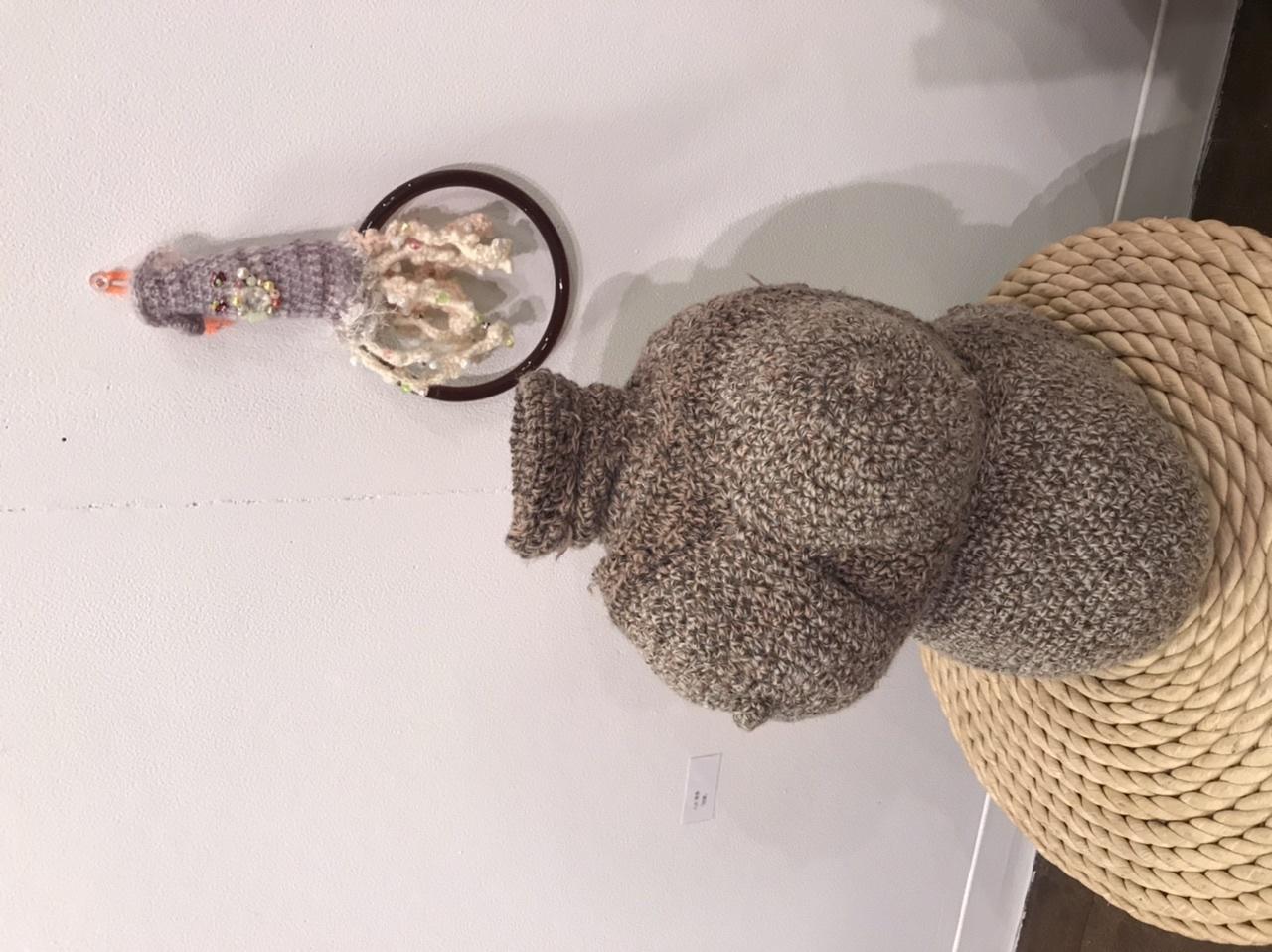 @KCUAギャラリー「おかんアートと現代アートをいっしょに展示する企画展」_f0189227_20003134.jpeg