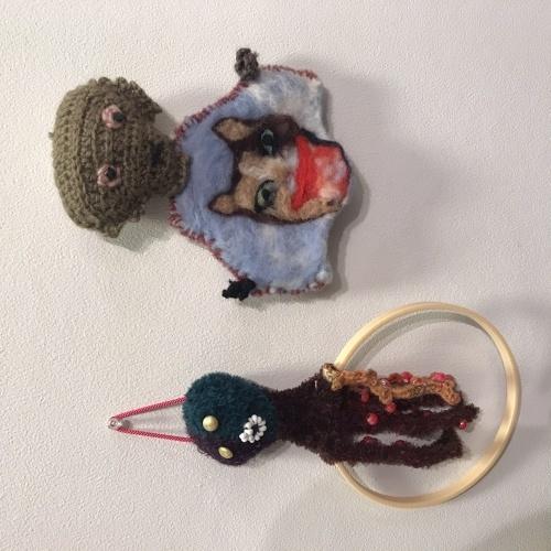 @KCUAギャラリー「おかんアートと現代アートをいっしょに展示する企画展」_f0189227_20013852.jpeg