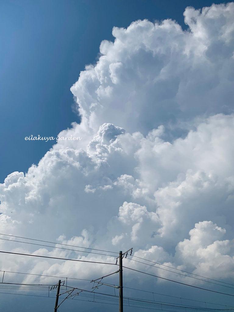 """夏のシンボル \"""" 入道雲 \""""_b0133243_20200644.jpg"""