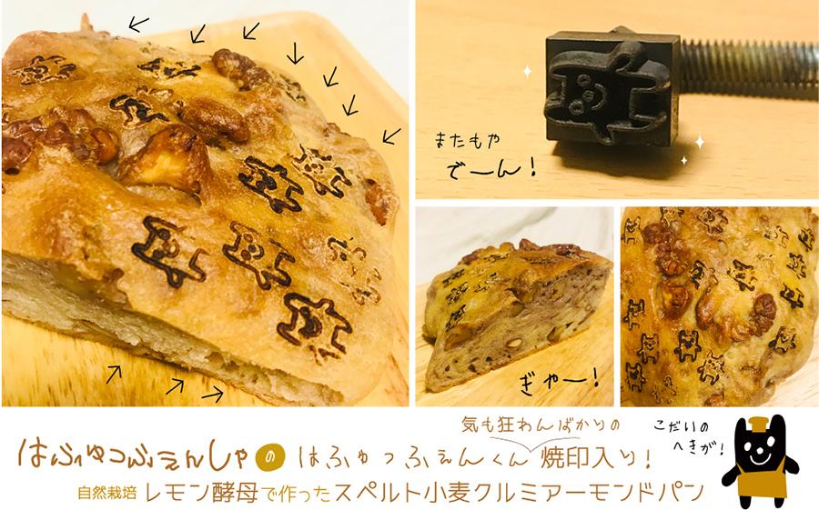 食卓のデザイン#56:気も狂わんばかりの「ハフュッフェン印」レモン天然酵母のスペルト小麦パン 2!_d0018646_21575746.jpg