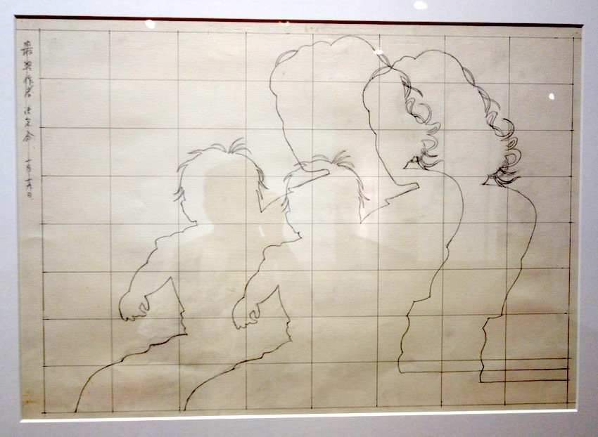 「越境する線描」展 その2_b0057679_09130227.jpg
