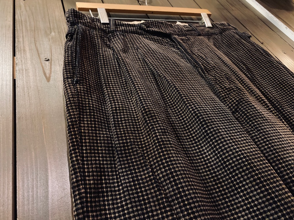 マグネッツ神戸店 8/26(水)秋Vintage入荷! #1 Vintage Corduroy ,Wool Trousers!!!_c0078587_15142795.jpg