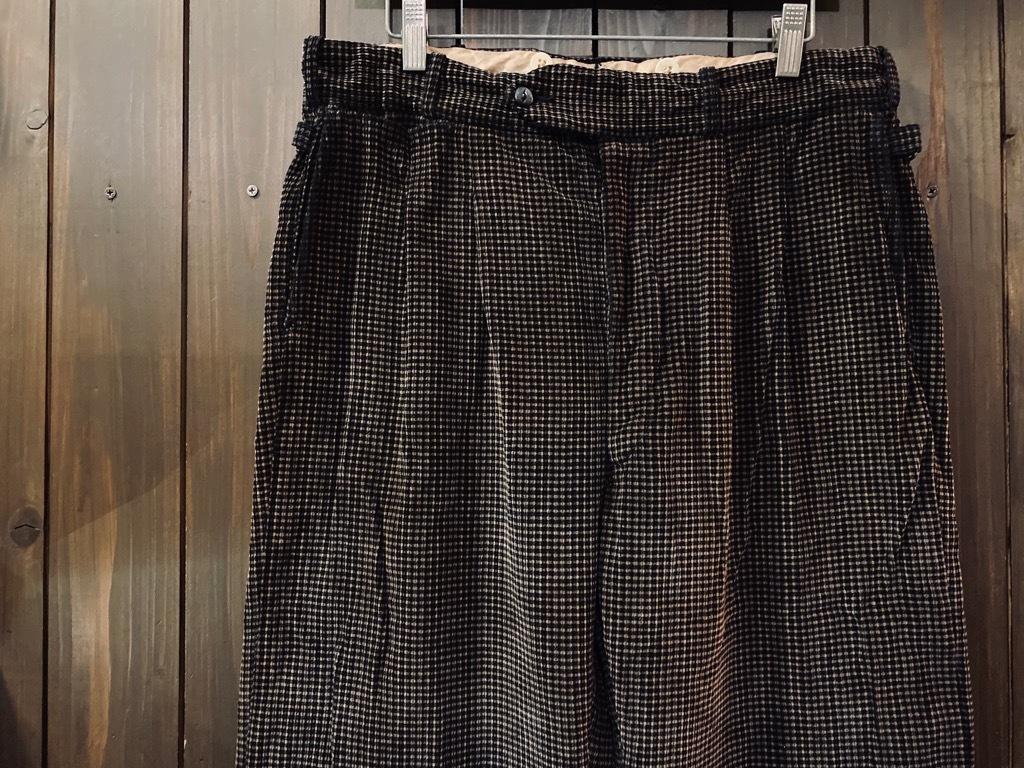 マグネッツ神戸店 8/26(水)秋Vintage入荷! #1 Vintage Corduroy ,Wool Trousers!!!_c0078587_15142797.jpg