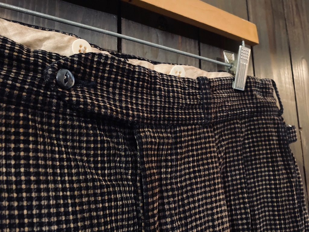 マグネッツ神戸店 8/26(水)秋Vintage入荷! #1 Vintage Corduroy ,Wool Trousers!!!_c0078587_15142811.jpg
