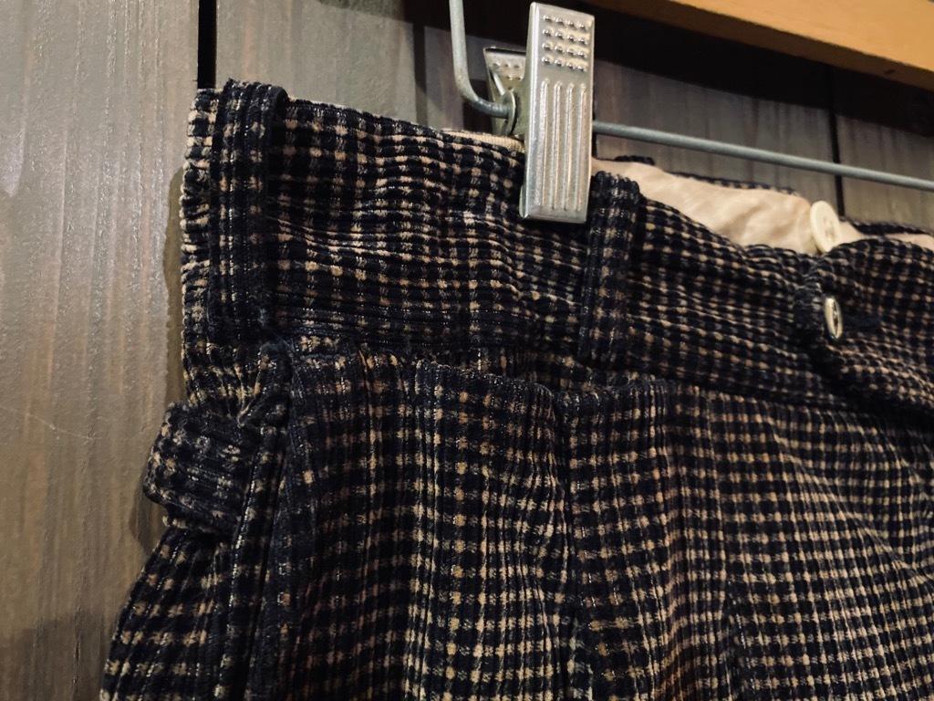 マグネッツ神戸店 8/26(水)秋Vintage入荷! #1 Vintage Corduroy ,Wool Trousers!!!_c0078587_15142855.jpg