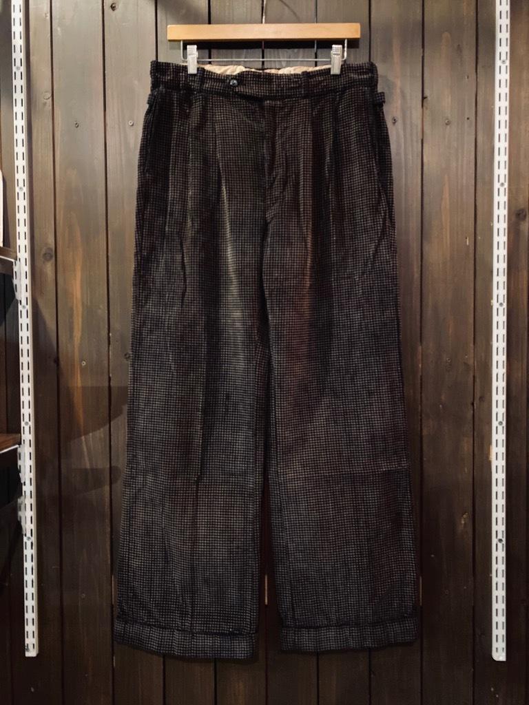 マグネッツ神戸店 8/26(水)秋Vintage入荷! #1 Vintage Corduroy ,Wool Trousers!!!_c0078587_15142913.jpg