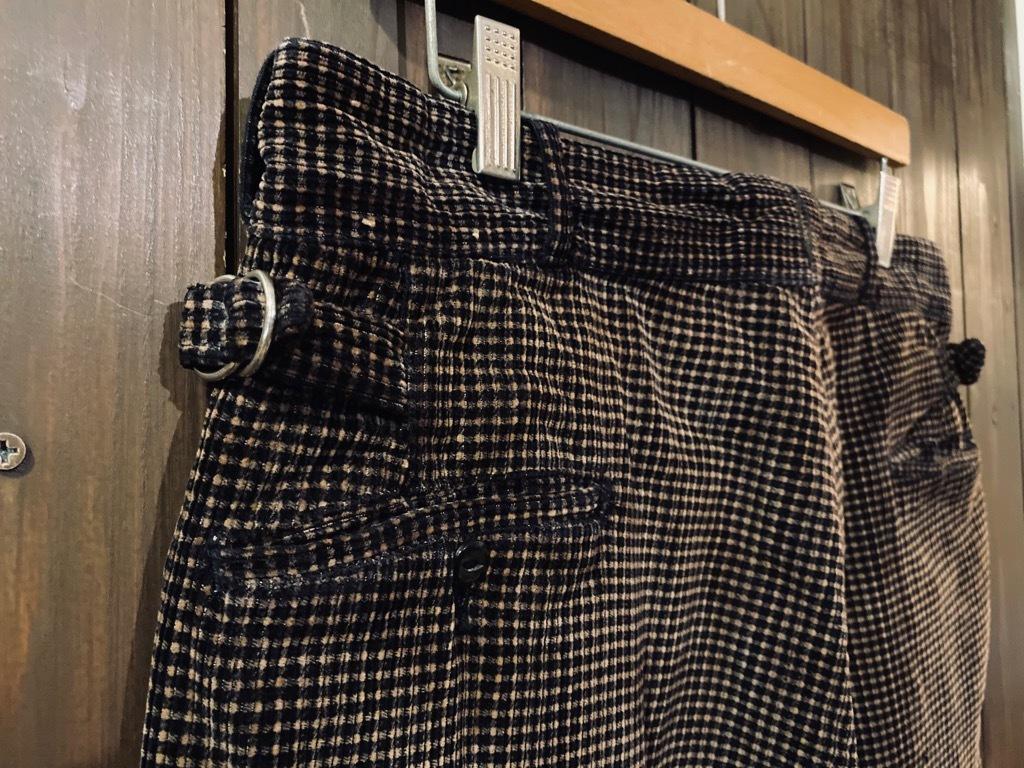 マグネッツ神戸店 8/26(水)秋Vintage入荷! #1 Vintage Corduroy ,Wool Trousers!!!_c0078587_15331026.jpg
