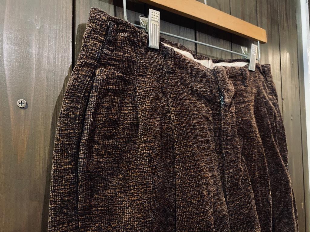 マグネッツ神戸店 8/26(水)秋Vintage入荷! #1 Vintage Corduroy ,Wool Trousers!!!_c0078587_15372064.jpg