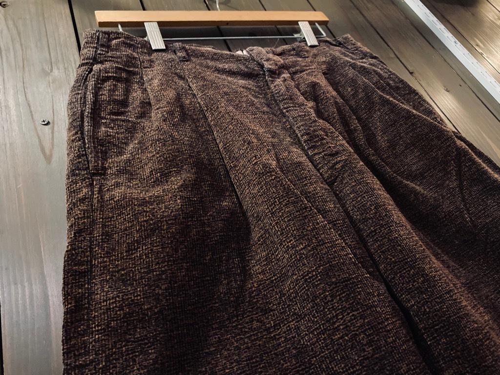 マグネッツ神戸店 8/26(水)秋Vintage入荷! #1 Vintage Corduroy ,Wool Trousers!!!_c0078587_15372156.jpg