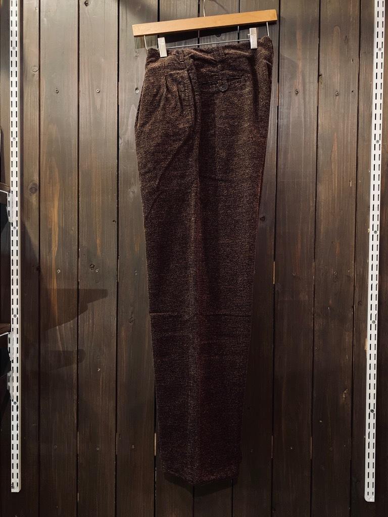 マグネッツ神戸店 8/26(水)秋Vintage入荷! #1 Vintage Corduroy ,Wool Trousers!!!_c0078587_15372162.jpg