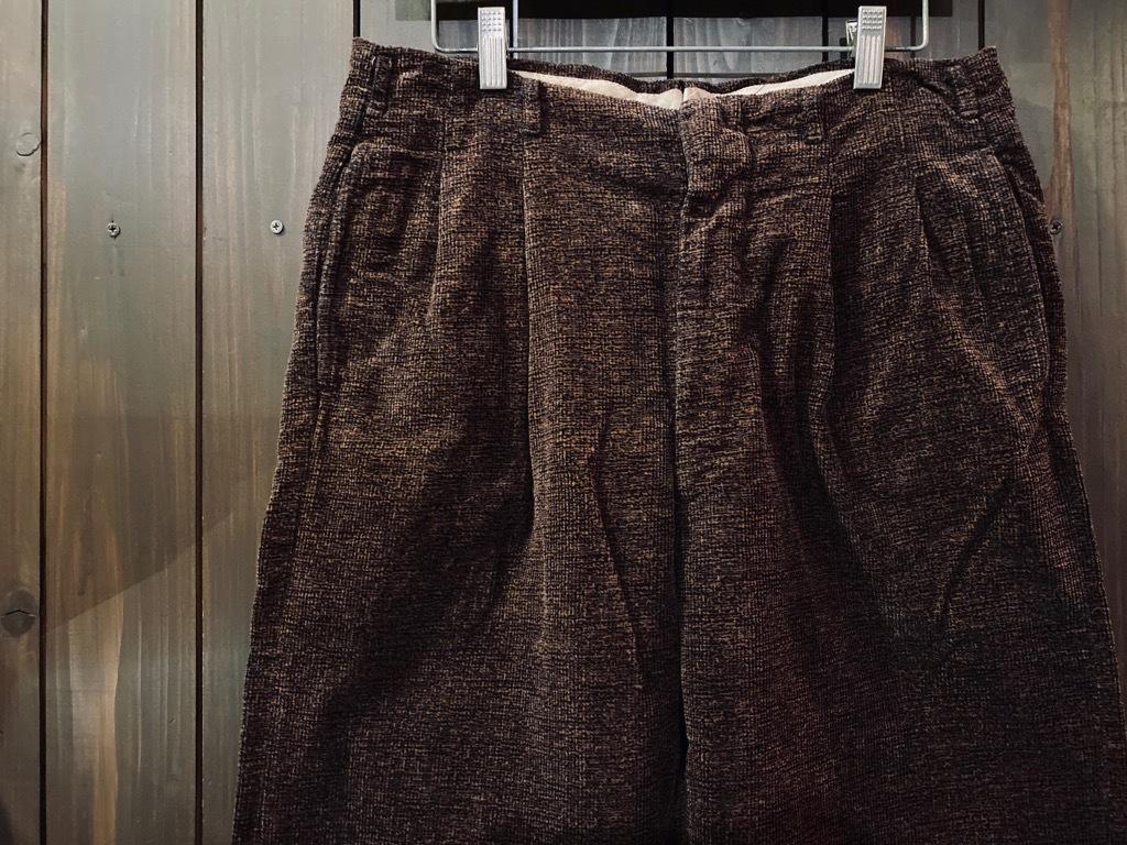 マグネッツ神戸店 8/26(水)秋Vintage入荷! #1 Vintage Corduroy ,Wool Trousers!!!_c0078587_15372169.jpg