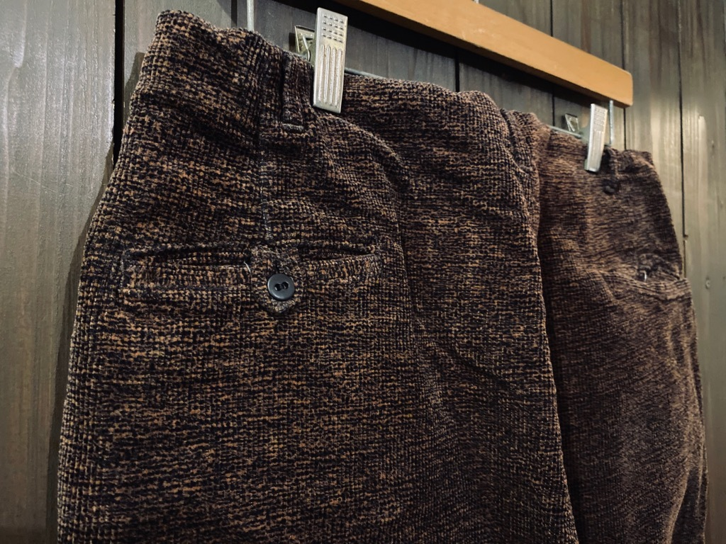マグネッツ神戸店 8/26(水)秋Vintage入荷! #1 Vintage Corduroy ,Wool Trousers!!!_c0078587_15385480.jpg