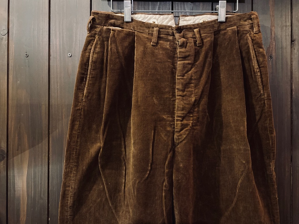 マグネッツ神戸店 8/26(水)秋Vintage入荷! #1 Vintage Corduroy ,Wool Trousers!!!_c0078587_15400507.jpg