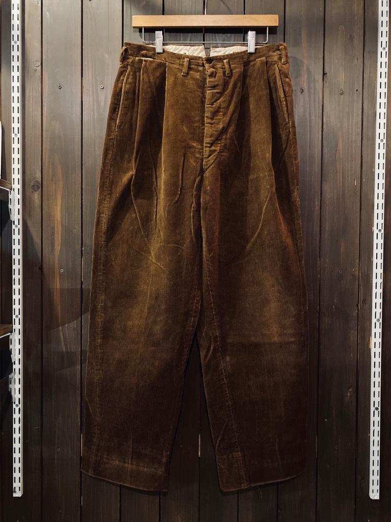 マグネッツ神戸店 8/26(水)秋Vintage入荷! #1 Vintage Corduroy ,Wool Trousers!!!_c0078587_15400521.jpg