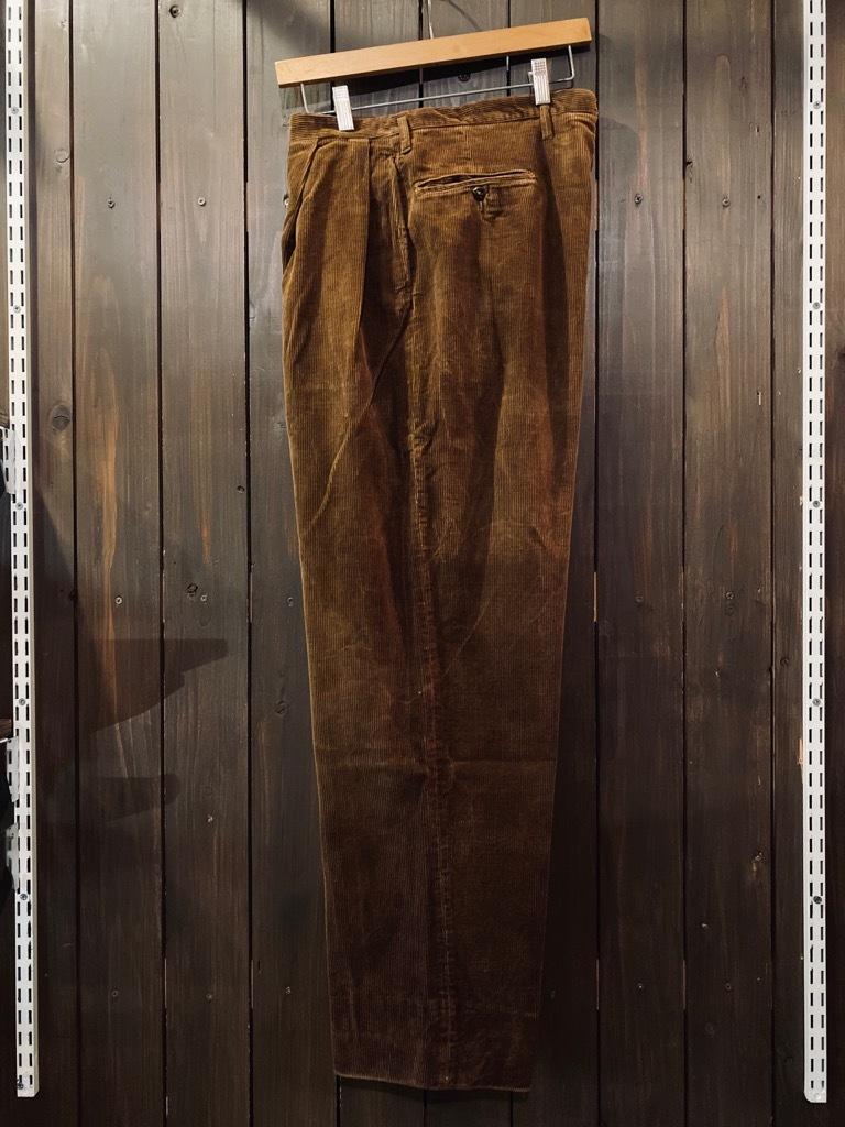 マグネッツ神戸店 8/26(水)秋Vintage入荷! #1 Vintage Corduroy ,Wool Trousers!!!_c0078587_15400560.jpg