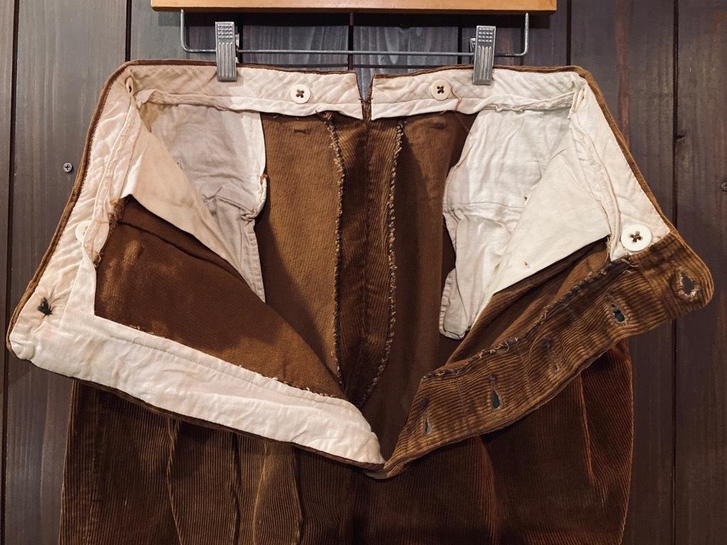 マグネッツ神戸店 8/26(水)秋Vintage入荷! #1 Vintage Corduroy ,Wool Trousers!!!_c0078587_15400598.jpg