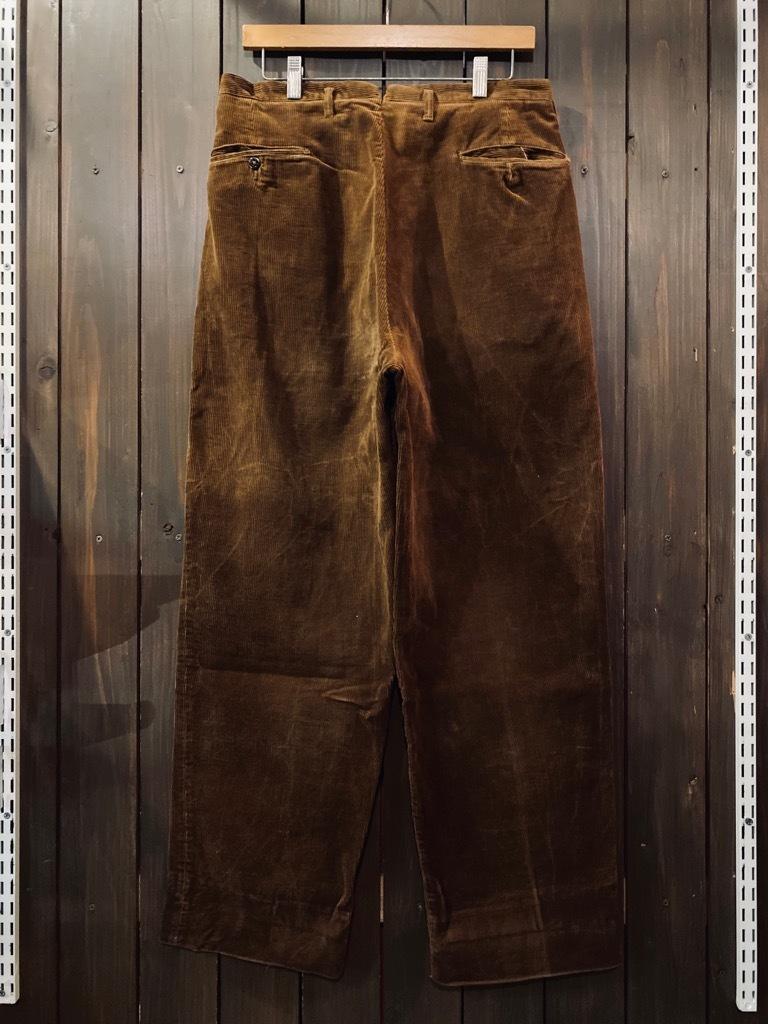 マグネッツ神戸店 8/26(水)秋Vintage入荷! #1 Vintage Corduroy ,Wool Trousers!!!_c0078587_15400681.jpg