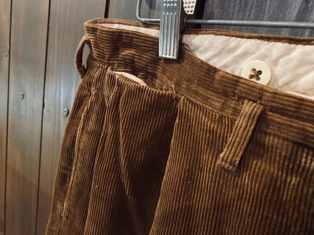 マグネッツ神戸店 8/26(水)秋Vintage入荷! #1 Vintage Corduroy ,Wool Trousers!!!_c0078587_15400684.jpg