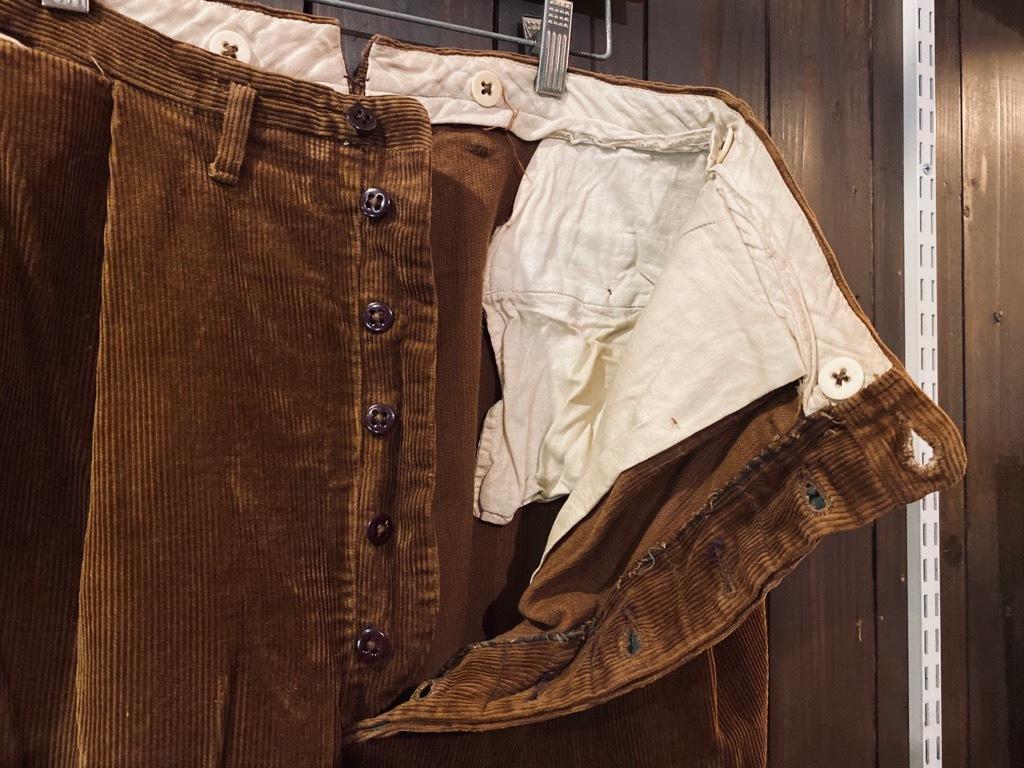 マグネッツ神戸店 8/26(水)秋Vintage入荷! #1 Vintage Corduroy ,Wool Trousers!!!_c0078587_15431010.jpg