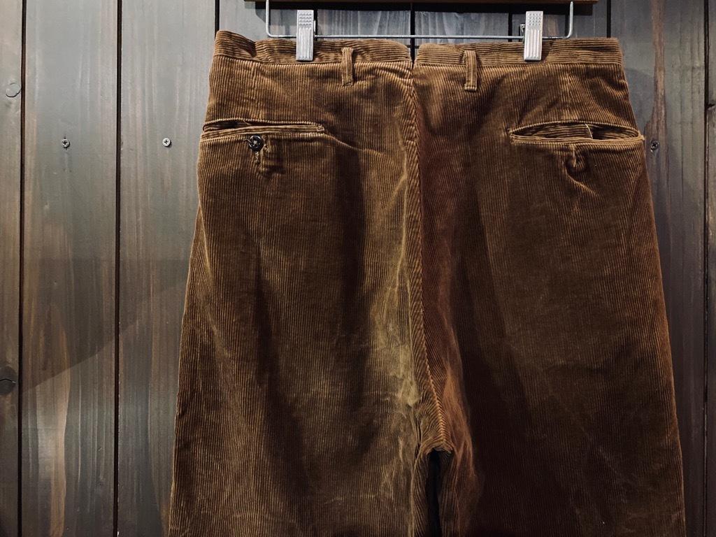 マグネッツ神戸店 8/26(水)秋Vintage入荷! #1 Vintage Corduroy ,Wool Trousers!!!_c0078587_15431063.jpg