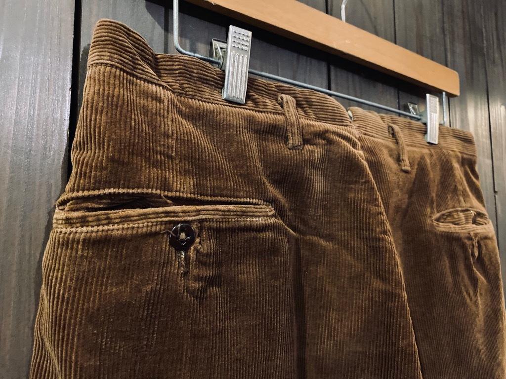 マグネッツ神戸店 8/26(水)秋Vintage入荷! #1 Vintage Corduroy ,Wool Trousers!!!_c0078587_15431070.jpg
