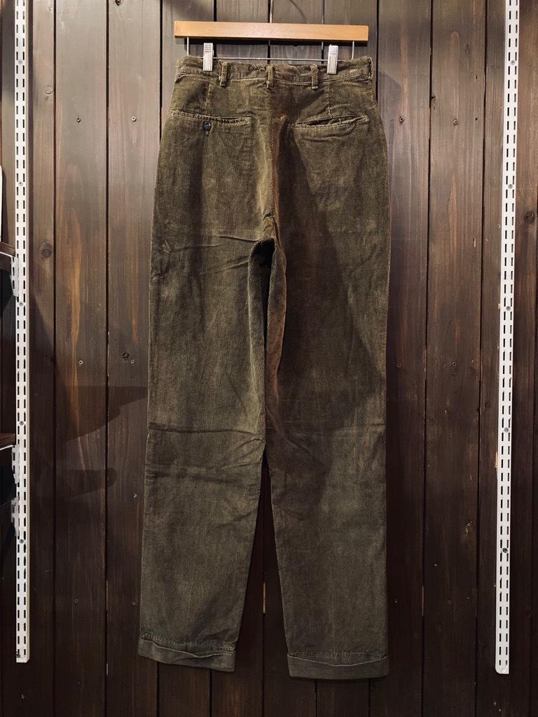 マグネッツ神戸店 8/26(水)秋Vintage入荷! #1 Vintage Corduroy ,Wool Trousers!!!_c0078587_15433925.jpg