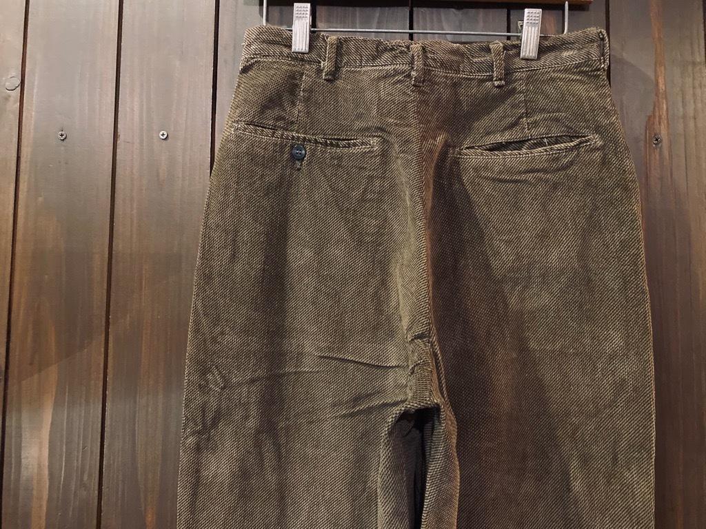 マグネッツ神戸店 8/26(水)秋Vintage入荷! #1 Vintage Corduroy ,Wool Trousers!!!_c0078587_15433955.jpg