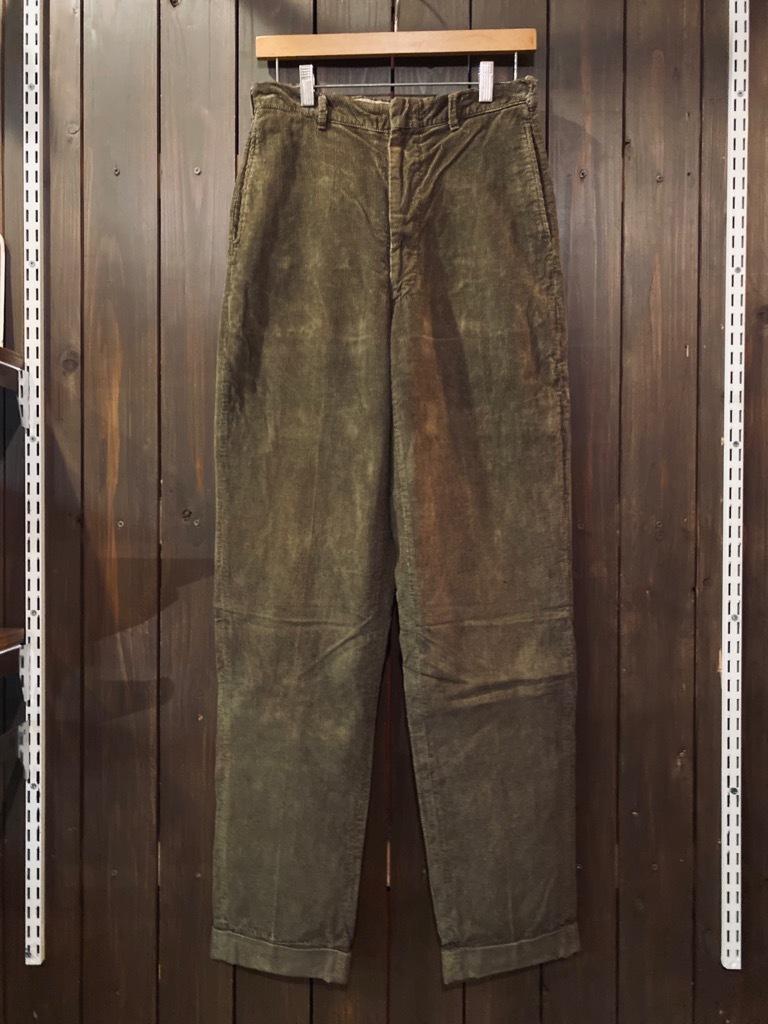 マグネッツ神戸店 8/26(水)秋Vintage入荷! #1 Vintage Corduroy ,Wool Trousers!!!_c0078587_15434012.jpg