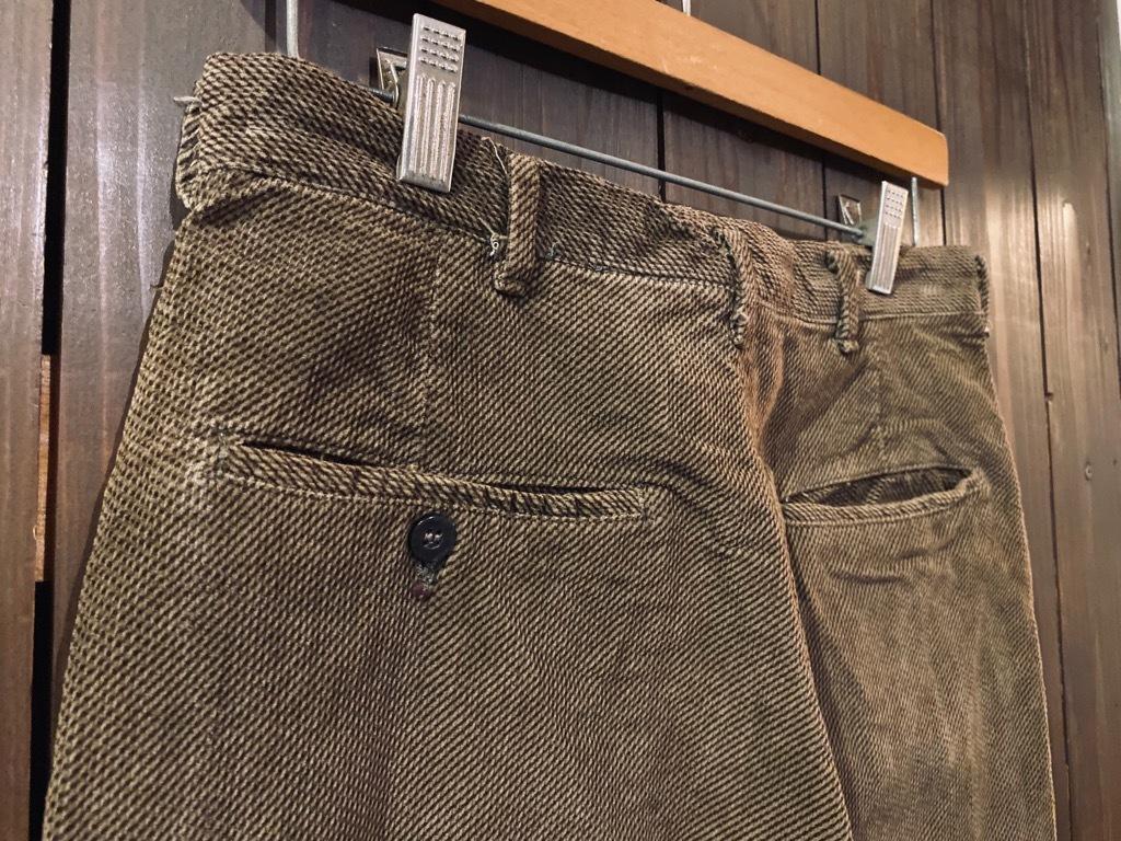 マグネッツ神戸店 8/26(水)秋Vintage入荷! #1 Vintage Corduroy ,Wool Trousers!!!_c0078587_15434066.jpg